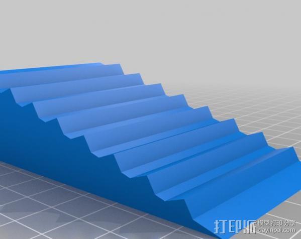 奶酪 门档 3D模型  图1
