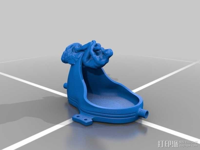 思想者 3D模型  图2