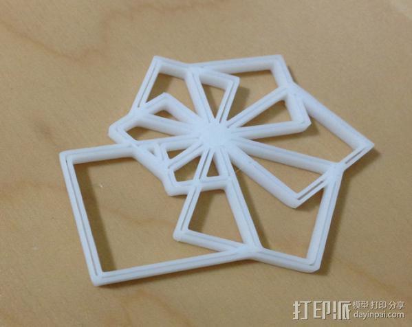 鹦鹉螺 面板 3D模型  图2