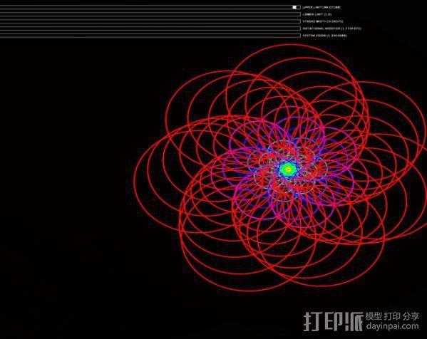 鹦鹉螺 面板 3D模型  图6