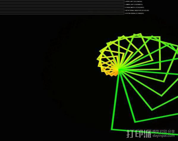鹦鹉螺 面板 3D模型  图4