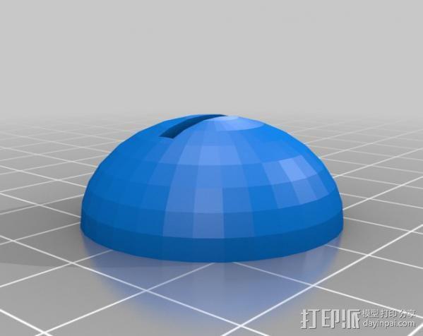 心 底座 3D模型  图3