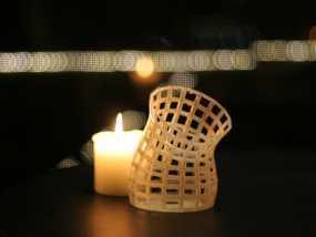 镂空花瓶 3D模型