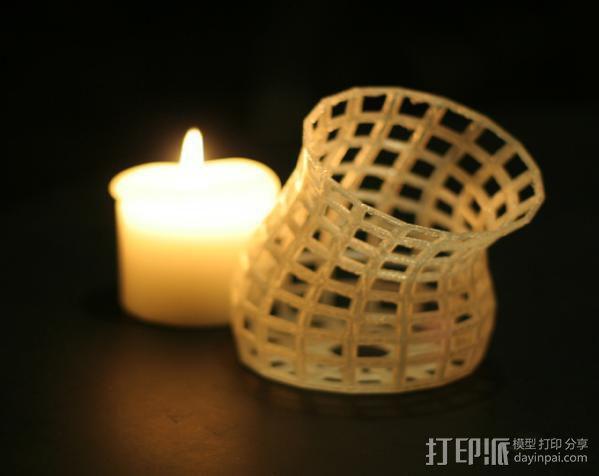 镂空花瓶 3D模型  图5