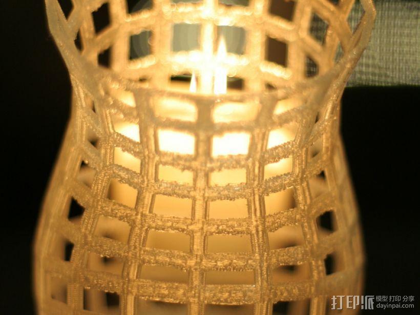 镂空花瓶 3D模型  图7