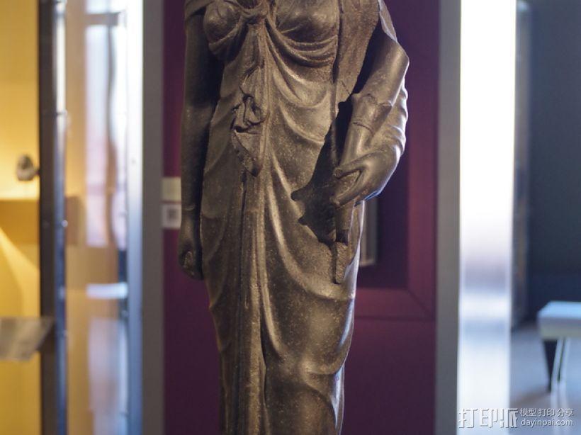 古埃及人 雕塑  3D模型  图1