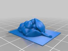 树莓  3D模型