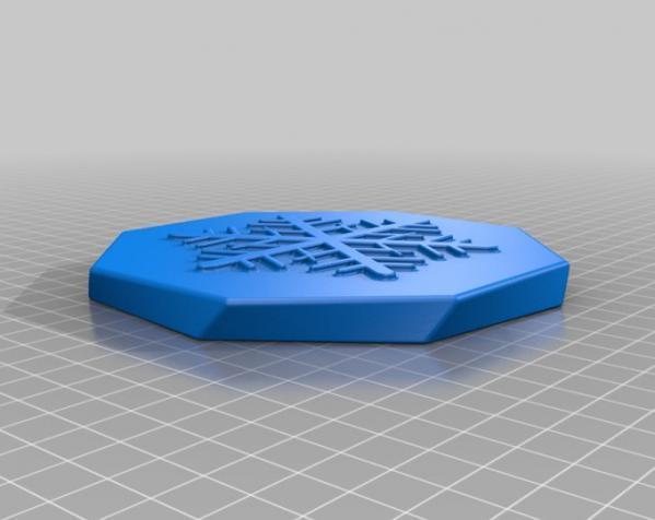 圣诞礼物盒 3D模型  图2