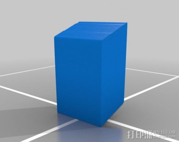 爱  罗伯特·印第安纳雕塑 3D模型  图2