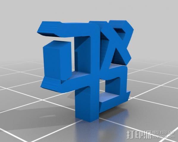 爱  罗伯特·印第安纳雕塑 3D模型  图6