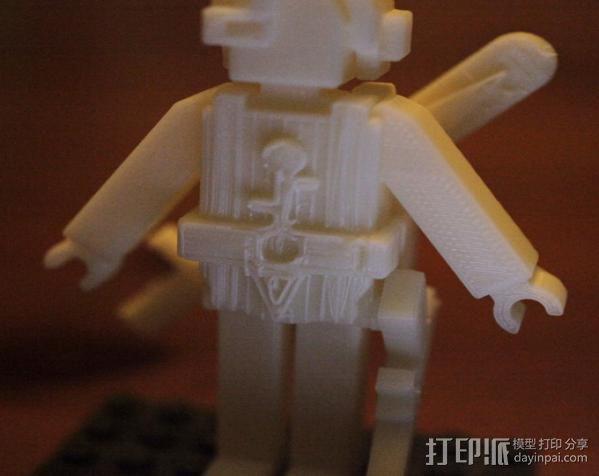 士兵 玩具 3D模型  图3
