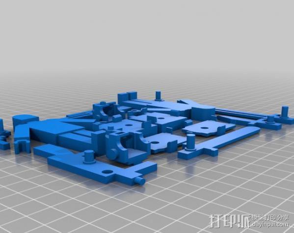 士兵 玩具 3D模型  图1