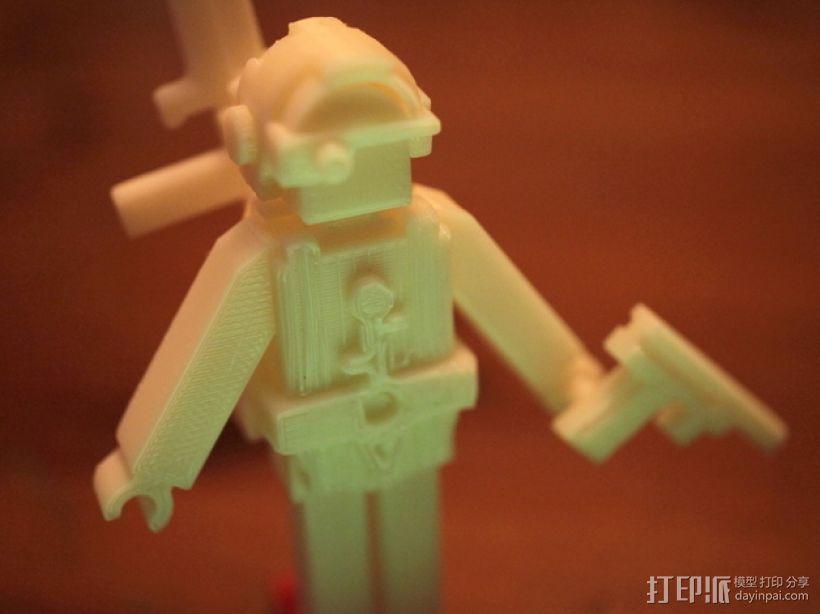 士兵 玩具 3D模型  图2