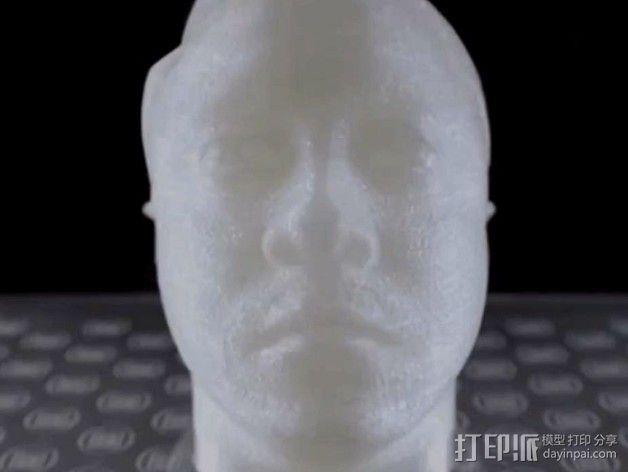写实人物 半身像  3D模型  图2