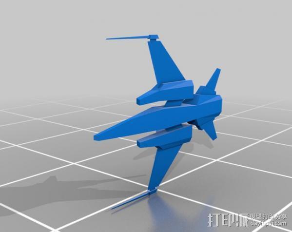 飞机 飞船 3D模型  图1