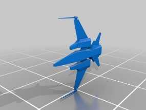 飞机 飞船 3D模型