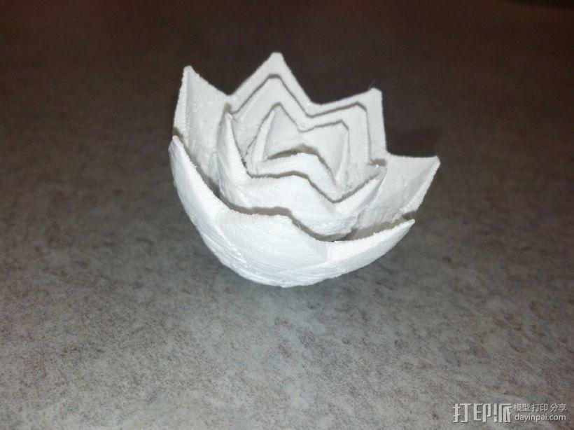 玫瑰花 花朵 3D模型  图2