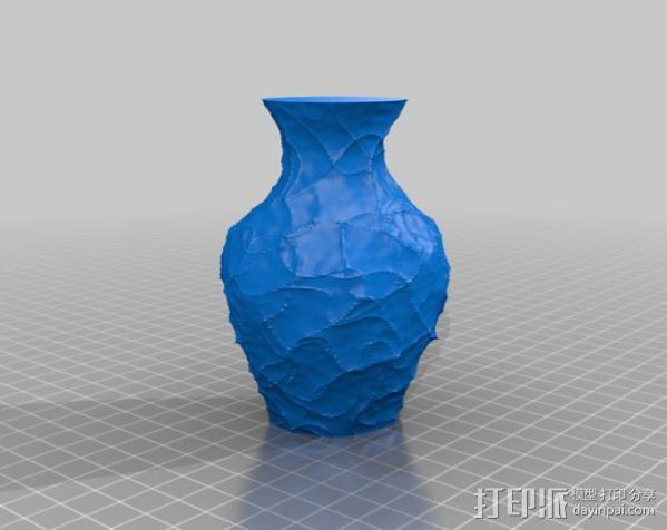 花瓶  灯罩  3D模型  图1