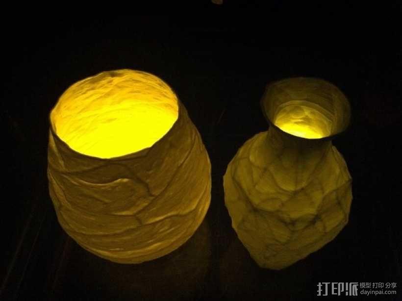 花瓶  灯罩  3D模型  图4