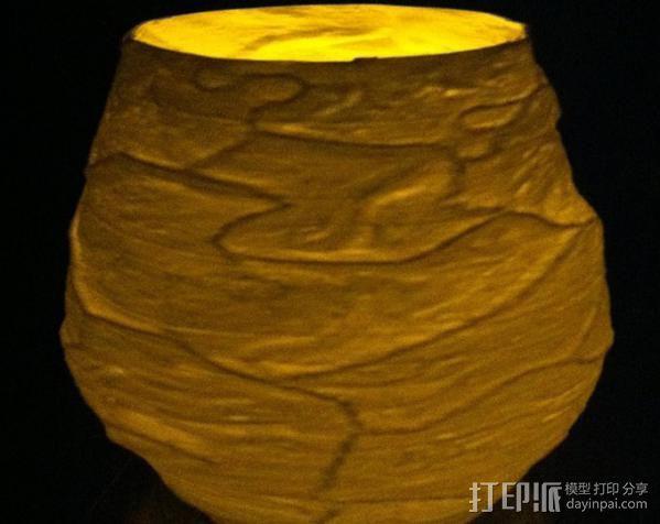 花瓶  灯罩  3D模型  图6