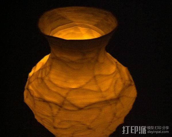 花瓶  灯罩  3D模型  图7