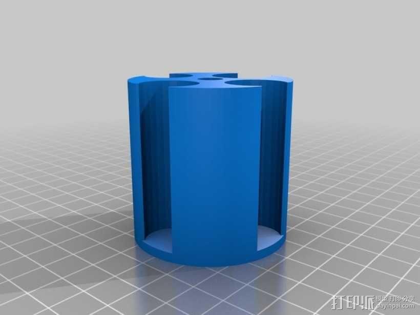 硬币收纳盒 3D模型  图2