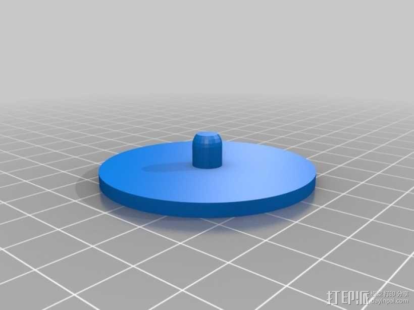 硬币收纳盒 3D模型  图3