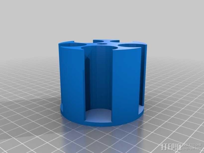 硬币收纳盒 3D模型  图4