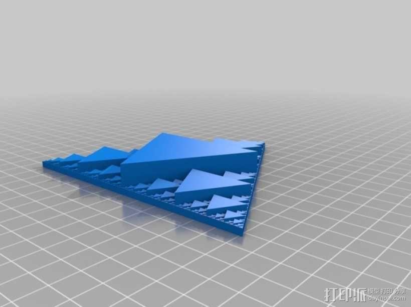 分形三角形 3D模型  图1