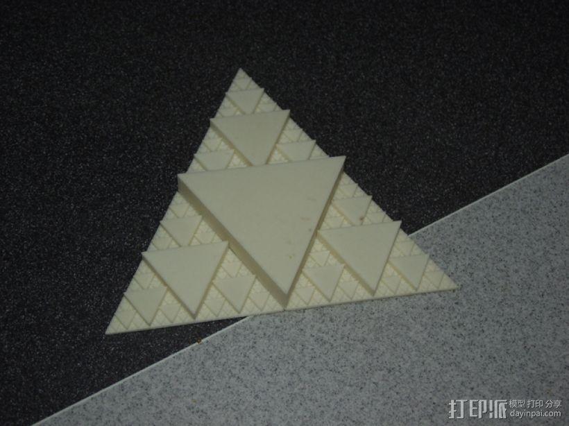 分形三角形 3D模型  图2