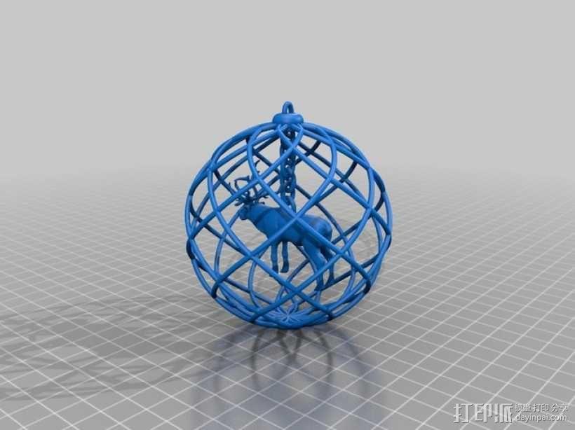 圣诞装饰品 3D模型  图1