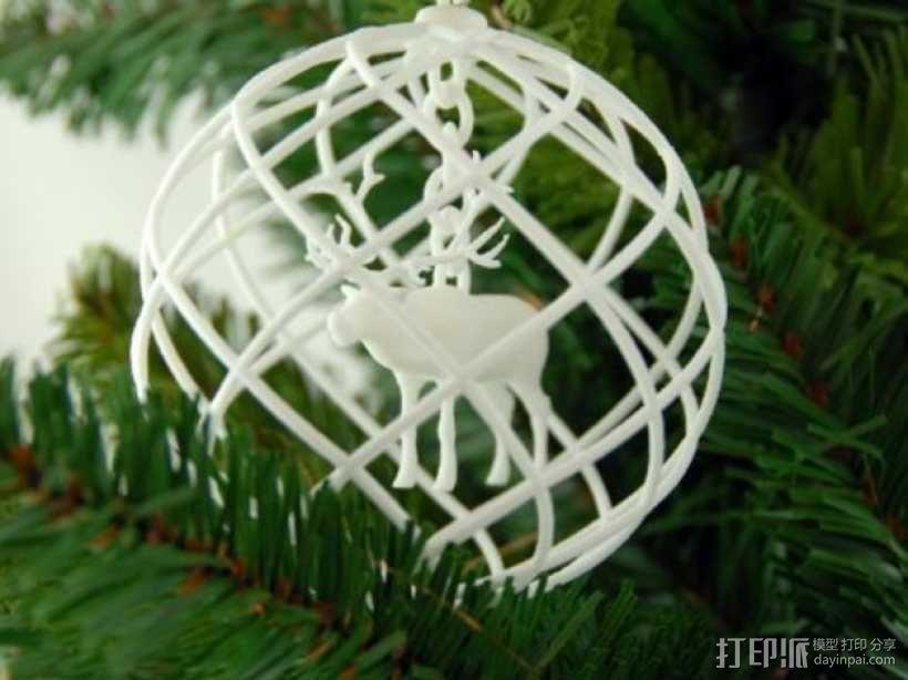 圣诞装饰品 3D模型  图2