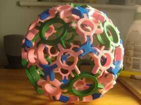 圆球多面体 3D模型