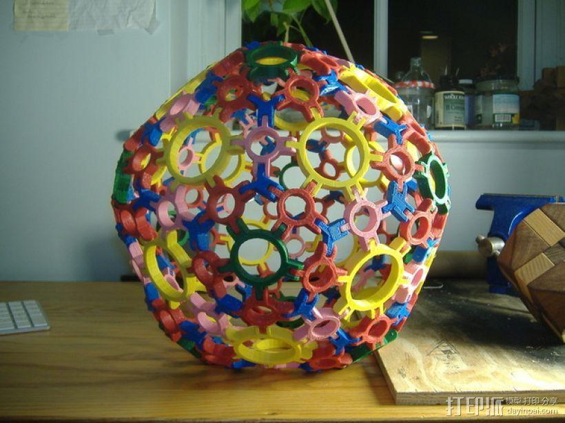 圆球多面体 3D模型  图7