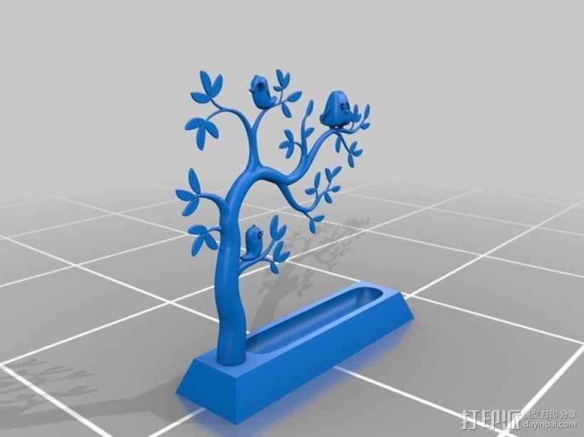 珠宝树  3D模型  图1