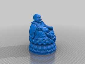 弥勒佛 3D模型
