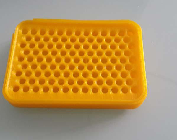 黄色的肥皂盒子 3D打印制作  图4