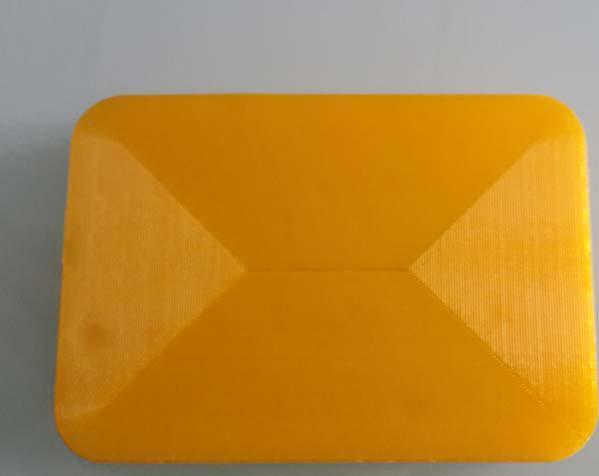 黄色的肥皂盒子 3D打印制作  图2