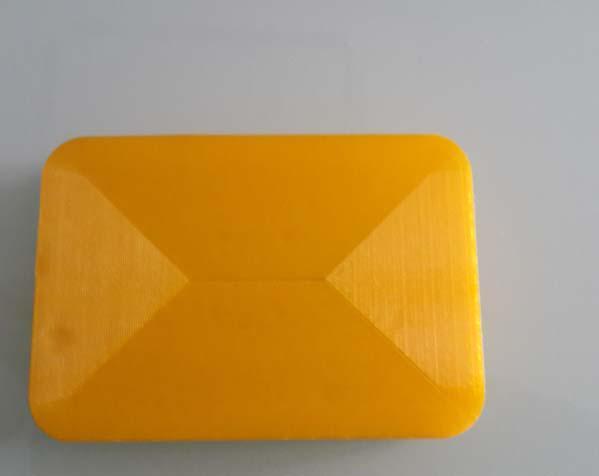 黄色的肥皂盒子 3D打印制作  图1