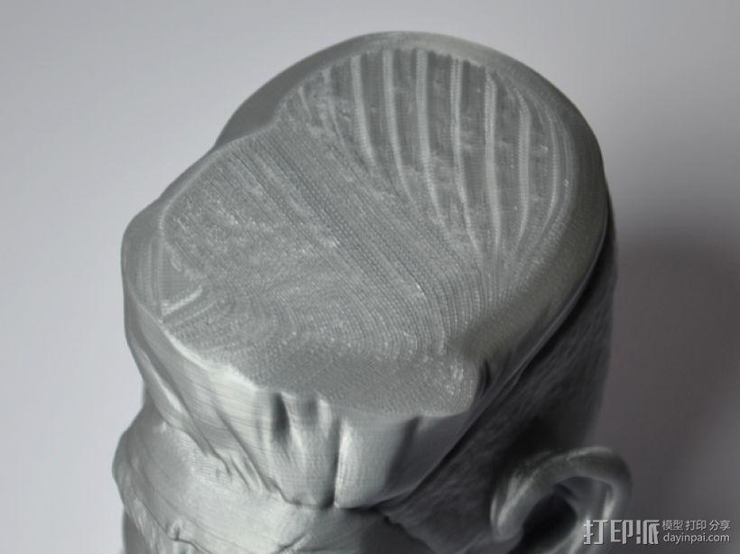 僵尸猎人头 3D打印制作  图1