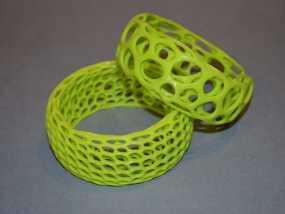 镂空 手镯  3D打印制作