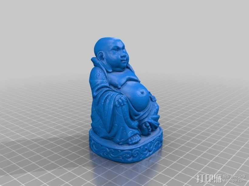 笑佛 3D模型  图1