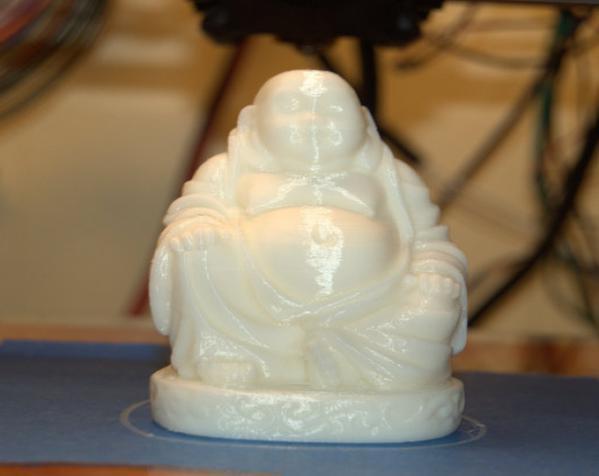 小型 笑佛 3D打印制作  图1