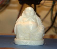 小型 笑佛 3D打印制作