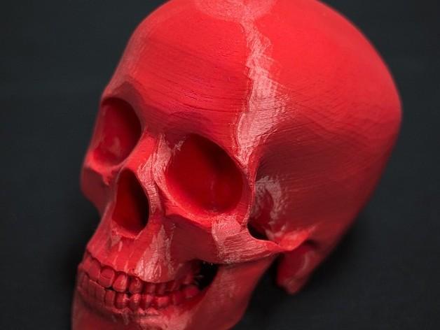 骷髅王 3D打印制作  图1