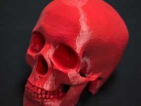 骷髅王 3D打印制作