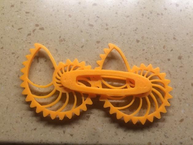 鹦鹉螺齿轮 3D打印制作  图1
