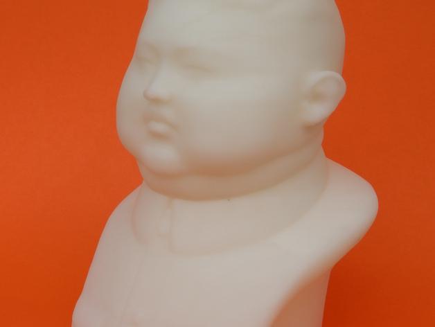 金正恩 雕像 3D打印制作  图5