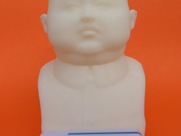 金正恩 雕像 3D打印制作  图2