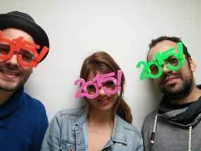 2015年 跨年 眼镜 3D模型